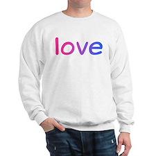 bisexual love Sweatshirt
