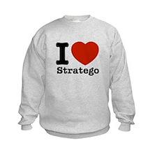 I love Stratego Sweatshirt
