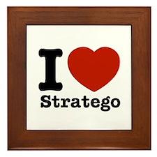 I love Stratego Framed Tile