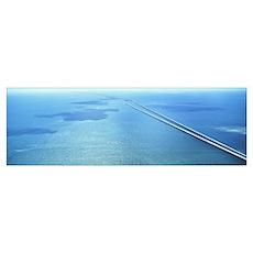 Seven Miles Bridge Florida Keys FL Poster