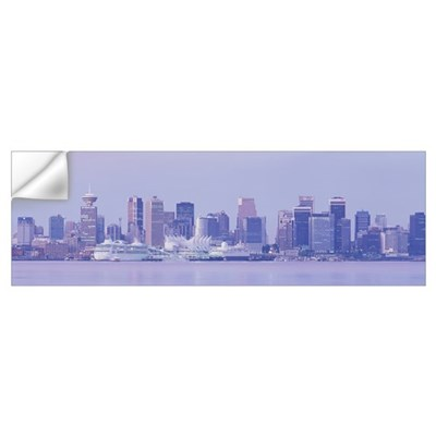 Vancouver British Columbia Canada Wall Decal
