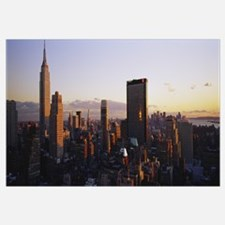 Buildings in a city, Manhattan, New York City, New