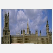 Facade of Big Ben and The Houses of Parliament, Lo