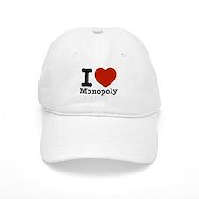 I love Monopoly Baseball Cap