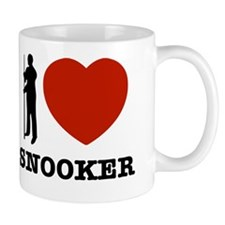 I love Snooker Small Mug