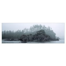 Barkley Sound Vancouver Island BC Canada Poster