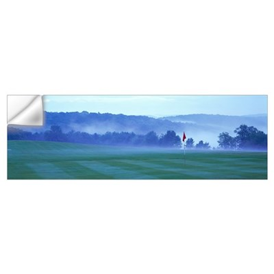 Golf Course Delaware County NY Wall Decal