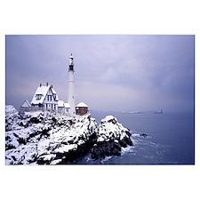 Lighthouse Portland Harbor ME