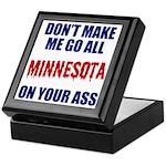 Minnesota Baseball Keepsake Box