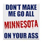 Minnesota Baseball Tile Coaster