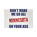 Minnesota Baseball Rectangle Magnet