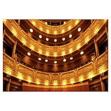 Interior The National Theater Prague Czech Republi
