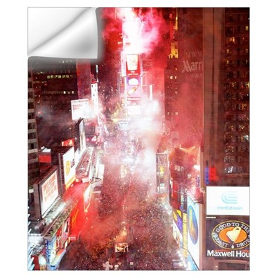 New Years Eve Times Square New York NY Wall Decal