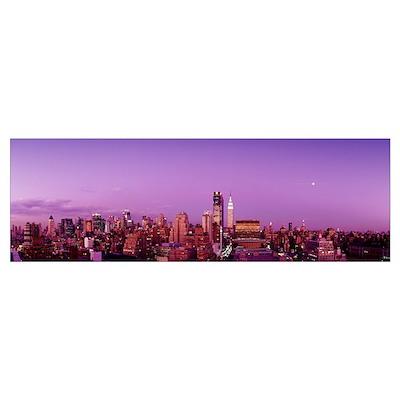 Midtown New York City NY Poster