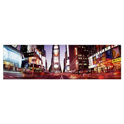 Times Square New York NY Poster