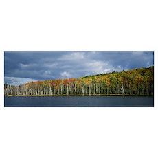 Autumn Council Lake Upper Peninsula MI Poster