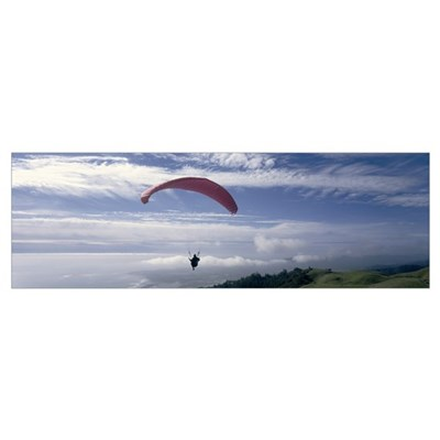 ParaGliding Marin County CA Poster
