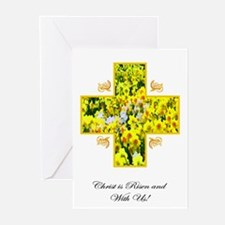Easter Greeting Cards (Pk of 10)- Christ is Risen