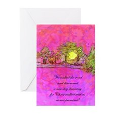 Easter Greeting Cards (Pk of 10)- We walked