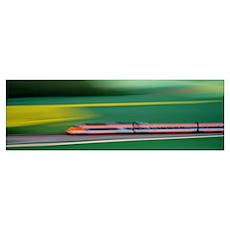 TGV High-speed train France Poster