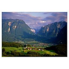 Bavarian Alps Bavaria Germany