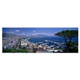 Bay of naples Framed Prints