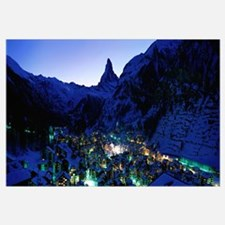 Matterhorn and Zermatt Switzerland