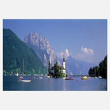 Traunsee Lake Gmunden Austria
