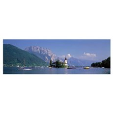 Traunsee Lake Gmunden Austria Poster