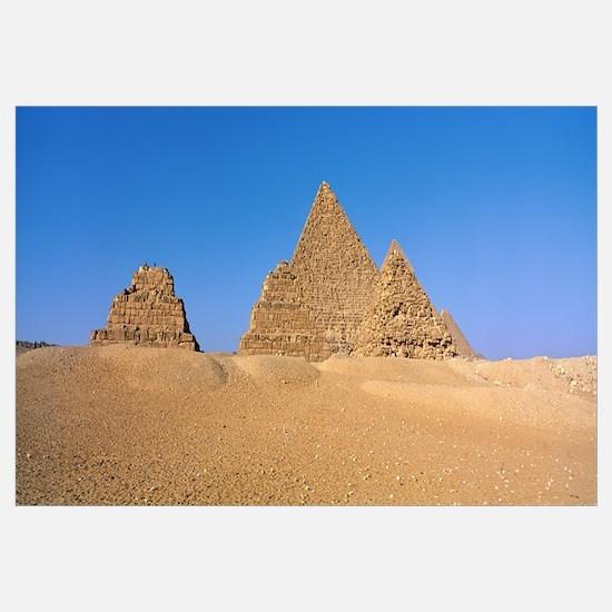 Pyramids Area of Giza Egypt