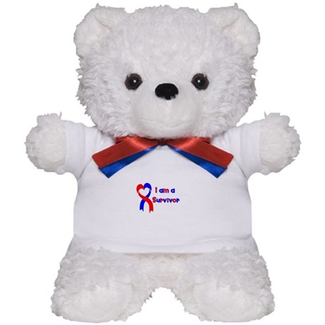 I Heart Survivor Teddy Bear