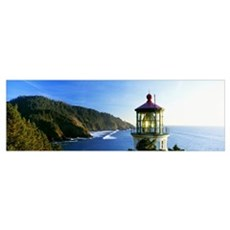 Heceta Head Lighthouse Florence Oregon Poster