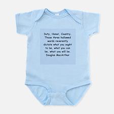 douglas macarthur Infant Bodysuit