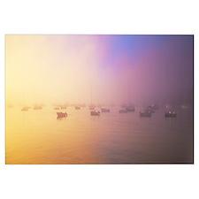 Morning Fog Chatham Harbor Cape Cod MA
