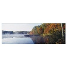 New Hampshire, White Mountains National Forest, De Framed Print