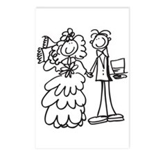 Married Couple 1 Postcards (Package of 8)
