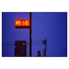 Neon sign, San Francisco, California