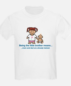 """...mom and dad are already trained."" (pink) T-Shirt"