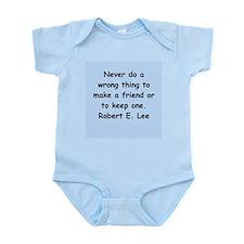 robert e lee Infant Bodysuit