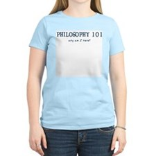 Philosophy 101 Women's Pink T-Shirt