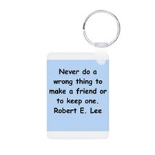robert e lee Keychains