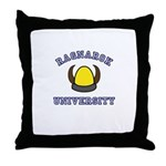 Ragnarok University Throw Pillow