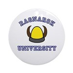 Ragnarok University Ornament (Round)