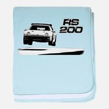 Funny Hollister rally baby blanket