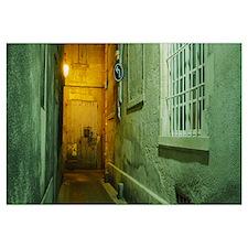 Buildings along an alley, Montmartre, Paris, Ile-D