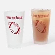 Cover The Spread! Drinking Glass