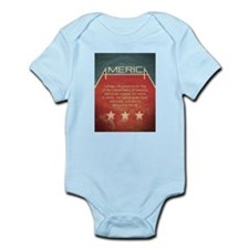 Pledge of Allegiance Infant Bodysuit