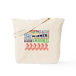 Powerful Uterine Cancer Tote Bag