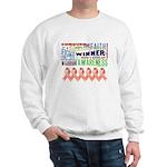 Powerful Uterine Cancer Sweatshirt