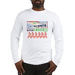 Powerful Uterine Cancer Long Sleeve T-Shirt